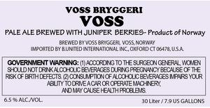 Voss Bryggeri Voss
