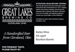 The Great Lakes Brewing Co. Barley Wine