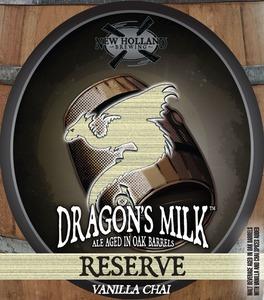 New Holland Brewing Company Dragon's Milk Reserve Vanilla Chai