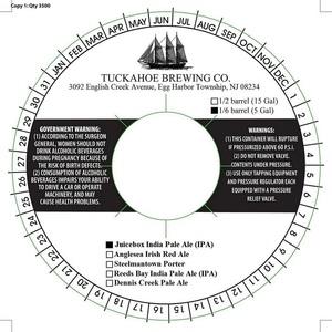 Tuckahoe Brewing Company Juicebox India Pale Ale (ipa)