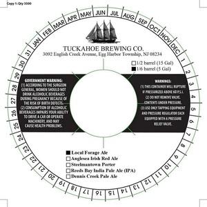 Tuckahoe Brewing Company Local Forage Ale