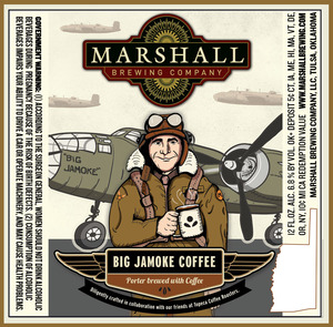 Marshall Brewing Company Big Jamoke Coffee