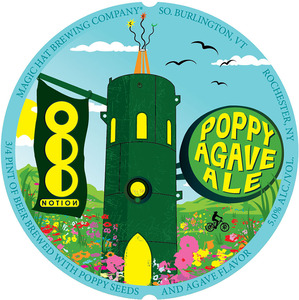 Magic Hat Poppy Agave Ale