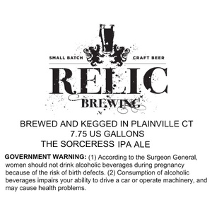 Relic Brewing The Sorceress