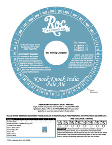 Knock Knock India Pale Ale