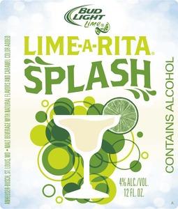 Bud Light Lime Lime-a-rita Splash