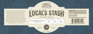 Crazy Mountain Brewing Company Local's Stash