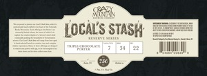 Crazy Mountain Brewing Company Triple
