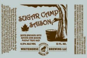 Whitehorse Brewing, LLC Sugar Camp Saison
