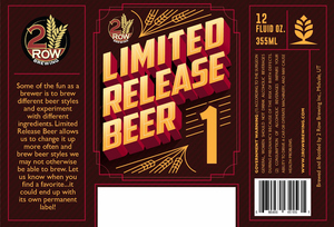 Limited Release Beer 1