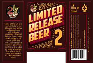 Limited Release Beer 2