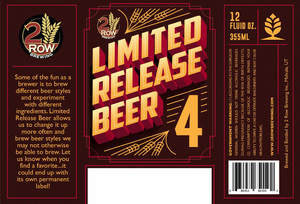 Limited Release Beer 4