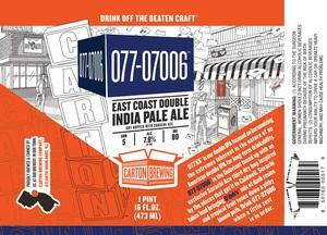 Carton Brewing Co. 077-07006
