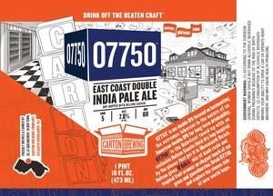 Carton Brewing Co. 07750