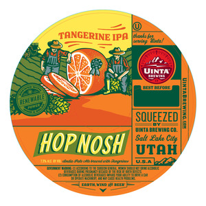 Uinta Brewing Co Hop Nosh