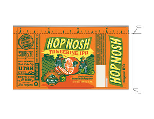 Uinta Brewing Co Hop Nosh Tangerine