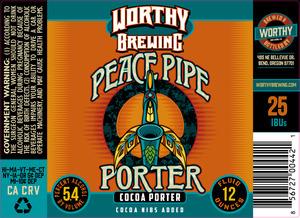 Peace Pipe Porter