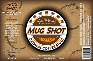 Frankenmuth Mugshot Coffee Stout