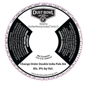 Change Order Double India Pale Ale