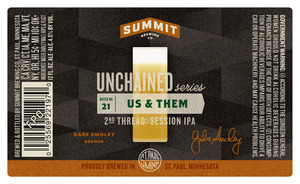Summit Brewing Company Us And Them 2nd Thread Session IPA