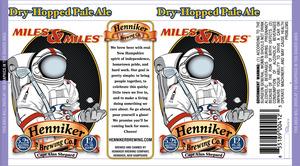 Henniker Brewing Company Miles & Miles