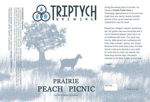Triptych Brewing Prairie Peach Picnic