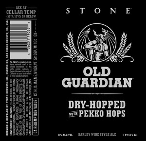 Stone Old Guardian