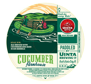Uinta Brewing Co Cucumber Farmhouse