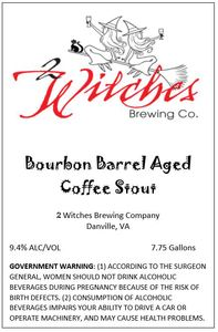 2 Witches Brewing Company Bourbon Barrel Aged Coffee Stout