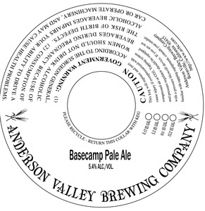Anderson Valley Brewing Company Basecamp Pale