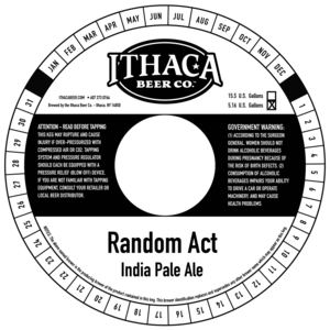 Ithaca Beer Company Random Act