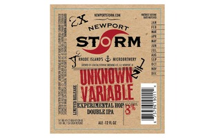 Newport Storm Unknown Variable