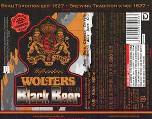 Wolters Black Beer