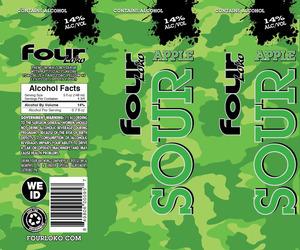 Four Loko Sour Apple