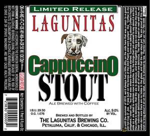 The Lagunitas Brewing Company Cappuccino Stout
