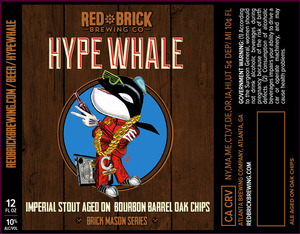 Red Brick Hype Whale
