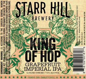 Starr Hill King Of Hop