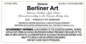 Meierei Berliner Art
