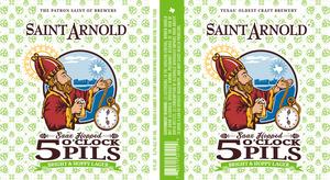 Saint Arnold Brewing Company 5 O'clock Pils