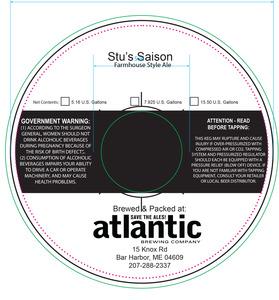 Atlantic Brewing Stu's Saison