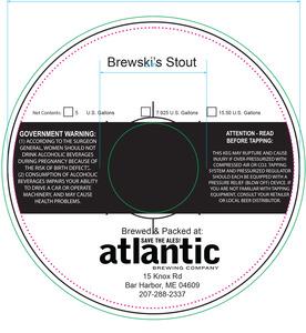 Atlantic Brewing Brewski's Stout