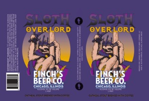 Sloth Overlord Sloth Overload Oatmeal Stout