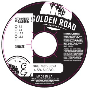 Golden Road Grb Nitro Stout