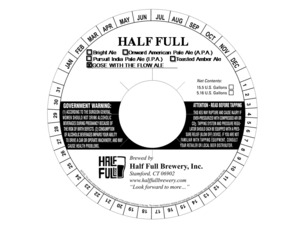 Half Full Gose With The Flow Ale