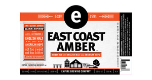 Image result for empire amber ale label