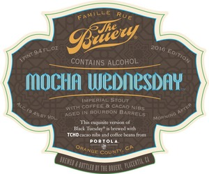 The Bruery Mocha Wednesday