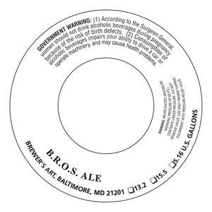 The Brewer's Art B.r.o.s. Ale
