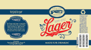 Tampa Style Lager