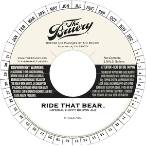 The Bruery Ride That Bear