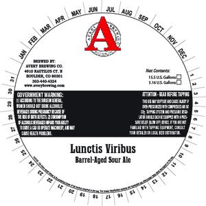 Avery Brewing Co. Lunctis Viribus
